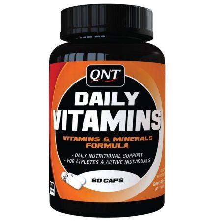 QNT Daily Vitamins - 60 kapszula vitamin sportolóknak
