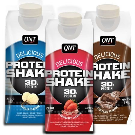 QNT Delicious Protein Shake fehérjeital 1karton protein ital