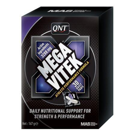 QNT Mega Vitek  - 30 csomag vitamin sportolóknak