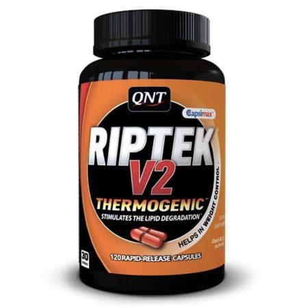 QNT Riptek V2 zsírégető - 120 kapszula termogenikus fogyasztószer
