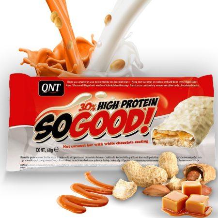 QNT So Good Bar (Protein Snack Bar) fehérje szelet 1karton energia vagy fehérjeszelet