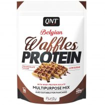 QNT Belgian Waffles protein - 480g protein desszert
