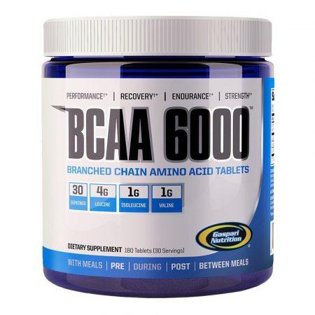 Gaspari BCAA 6000 180 tabletta aminosav táplálékkiegészítő