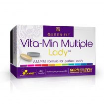 Olimp Queen Fit Vita-Min Multiple Lady Vitamin complex nőknek több féle vitamint tartalmazó termék