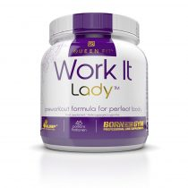 Olimp Queen Fit Work It Lady Preworkout - 337g komplex aminosav készítmény