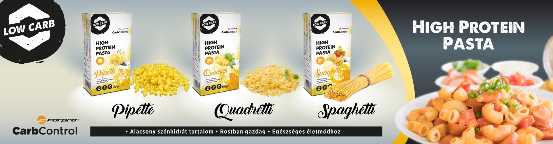 ForPro High Protein Pasta protein tészták