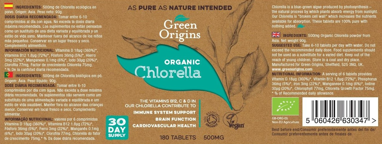 Green Origins BIO Chlorella