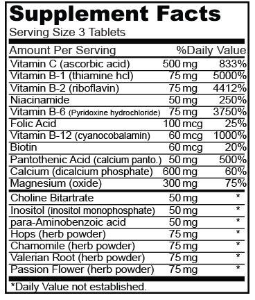 Biocom Stress Formula C-vitaminnal hatóanyag