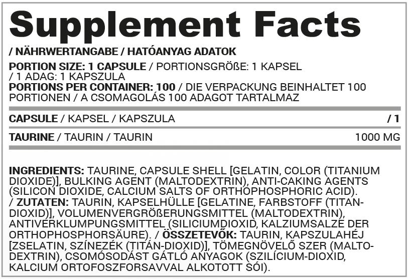 Nutriversum Taurine