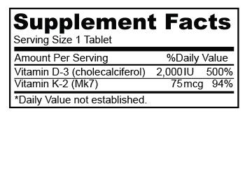 Biocom Vitamin D3 2000 IU hatóanyag