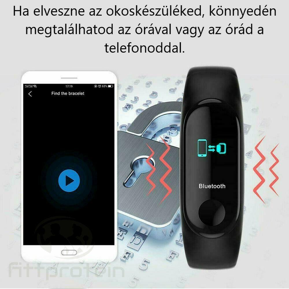 Okoskarkötő telefon kereső funkció