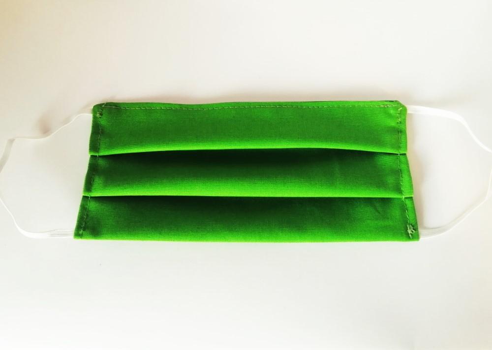 Szájmaszk zöld
