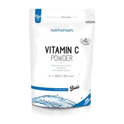 BASIC C-vitamin Powder 500 g