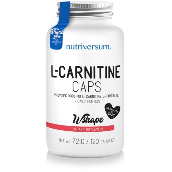 WSHAPE L-Carnitine 120 kapszula
