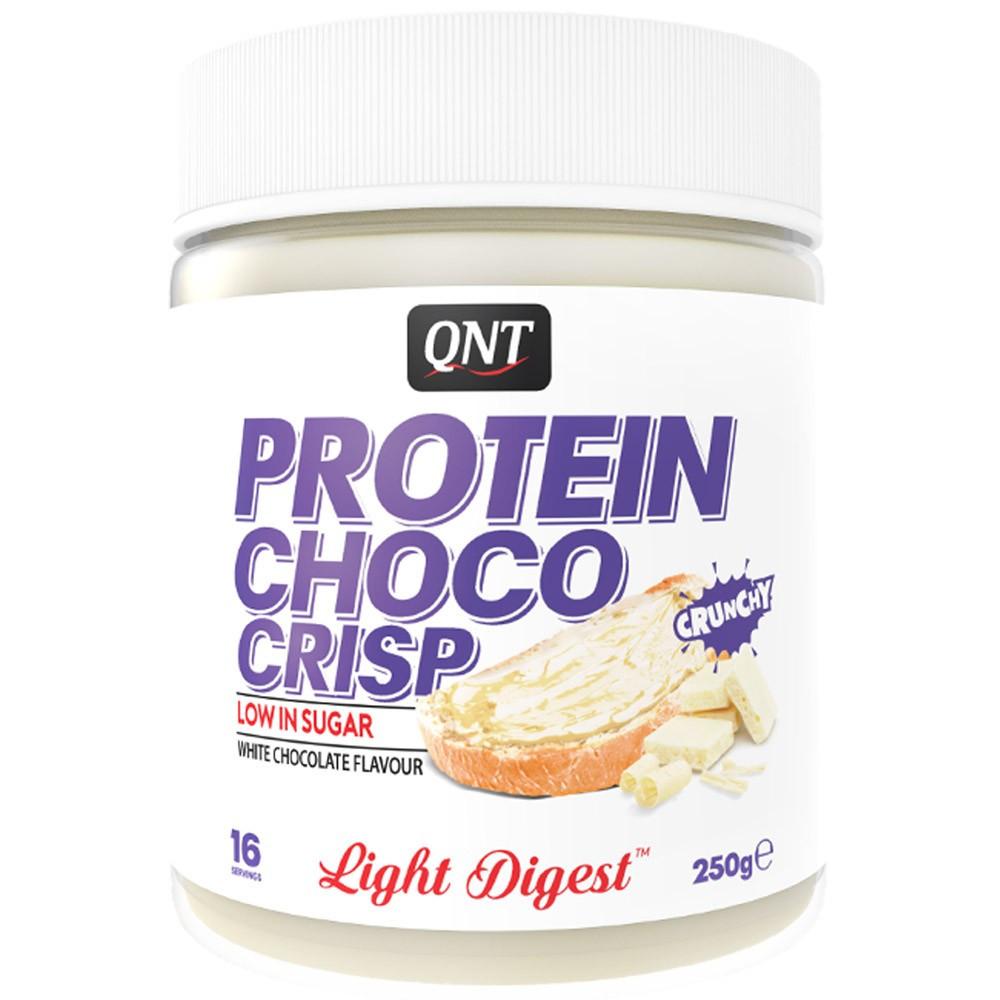 QNT Protein Spread Fehér Csokoládé Krém 250g - Crunchy