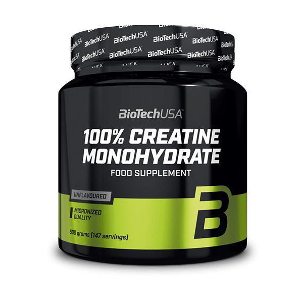 Biotech 100% Micronized Creatine Monohydrate 500g