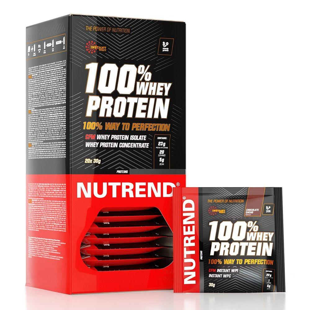 Nutrend 100% Whey Protein 1karton (30gx20db)
